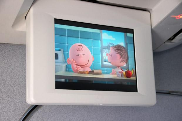 Die Peanuts und Charlie Brown wurden gezeigt