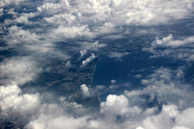 Südlich von Antalya nahmen wir über das Mittelmeer Kurs auf Zypern