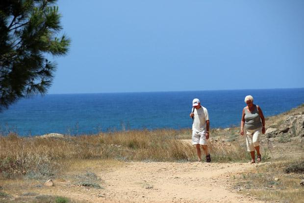 Vom archäologischen Park zu den Königsgräbern sind es rund zwei Kilometer