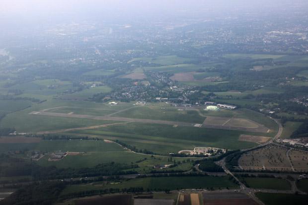 Der Flughafen Essen/Mülheim