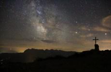 Der Anblick der Milchstraße war überwältigend und lässt sich nicht in Worte fassen