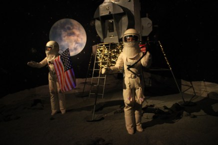 Mondlandung im Freizeitpark Sommerrodelbahn Ibbenbüren