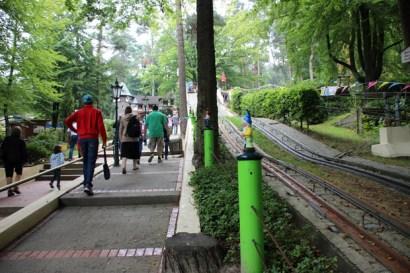 Die Sommerrodelbahn im Freizeitpark Ibbenbüren