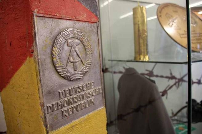 Der Besucher kann sich hier über die deutsche Geschichte informieren