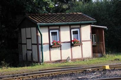 Niedliches Bahnhofsgebäude in Drei-Annen-Hohne