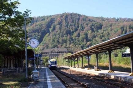 Am Bahnhof in Thale