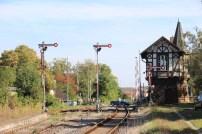 Signale im Bahnhof Thale