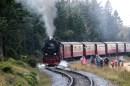 Dampflok der Brockenbahn Harzer Schmalspurbahn