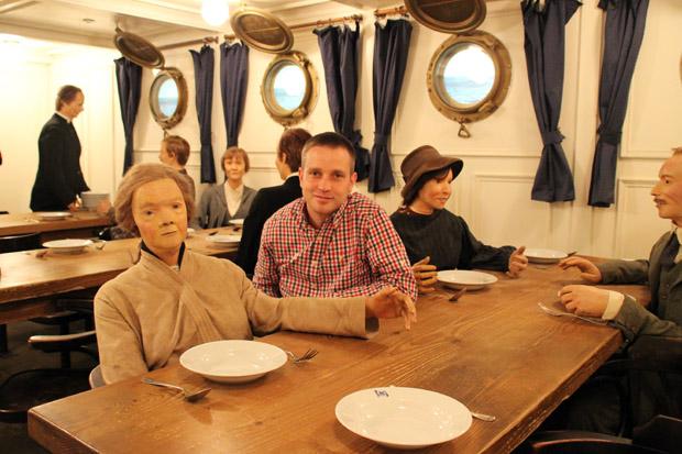 Als Museumsbesucher im Deutschen Auswandererhaus in Bremerhaven kann man völlig in die Thematik eintauchen