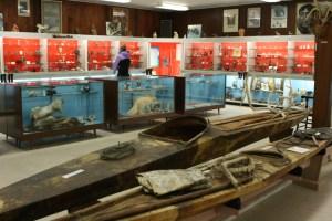 Das Eskimo Museum in Churchill Manitoba an der Hudson Bay