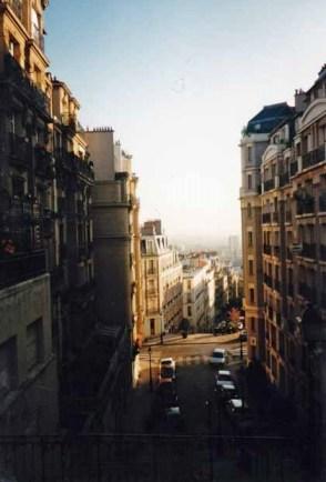 Als ich am Morgen Paris erreichte, ging die Sonne auf