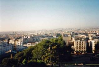 Blick über die französische Hauptstadt
