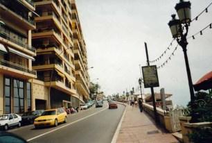 In Monaco bin ich einmal den Kurs abgelaufen, auf dem die Formel 1 Rennen ausgetragen werden