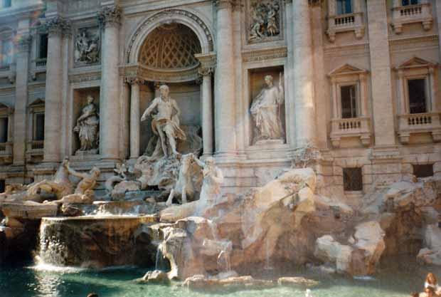 Trevibrunnen in Rom