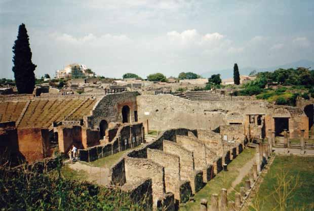 In Pompeji lässt sich noch gut erkennen, wie die Stadt einst aussah