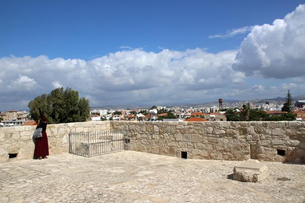 Vom Dach des Kastells bietet sich ein hervorragender Panoramablick