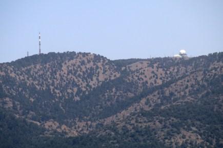 Der Gipfel des Olympos im Troodos auf Zypern ist militärisches Sperrgebiet. Dort stehen Abhöranlagen