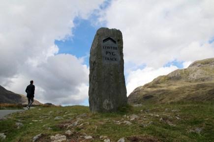 """Der """"Pyg Track"""" ist der beliebteste Wanderweg auf den Snowdon - den höchsten Berg Wales'"""