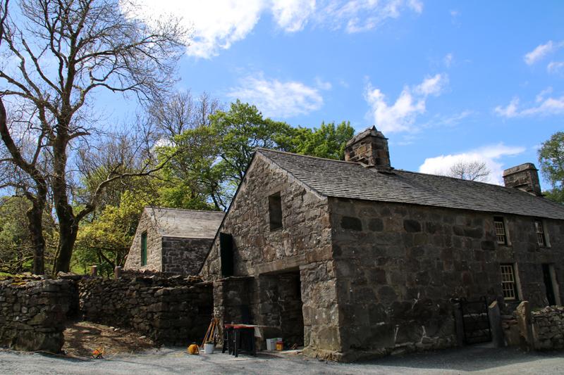 Auf dieser Farm hat der walisische Dichter Hedd Wyn einst gelebt