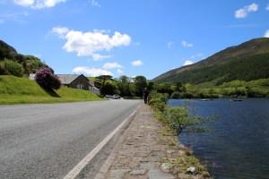 Im Snowdonia Nationalpark im Norden von Wales liegt dieser malerische See