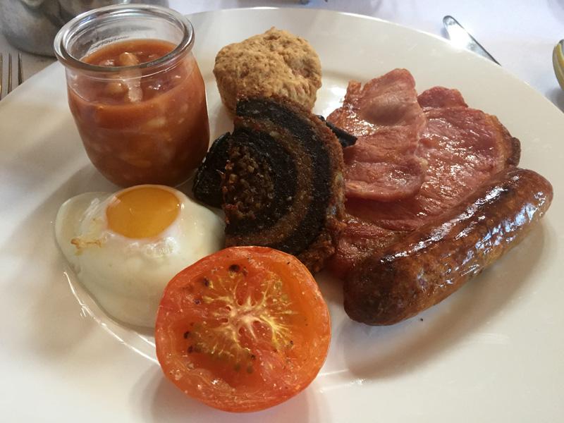 Gewöhnungsbedürftig ist das Frühstück in Wales