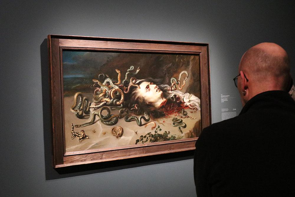 Peter Paul Rubens - Das Haupt der Medusa, ca. 1617