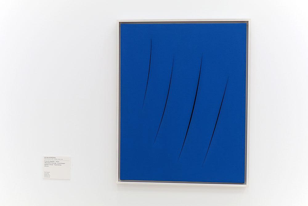 """Lucio Fontana, """"Concetto Spaziale – Attese"""", 1962/63"""