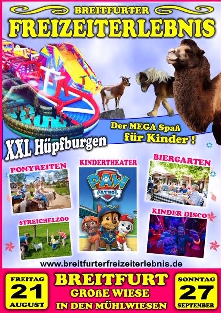 Bliestal Freizeitweg Breitfurt Cirkus