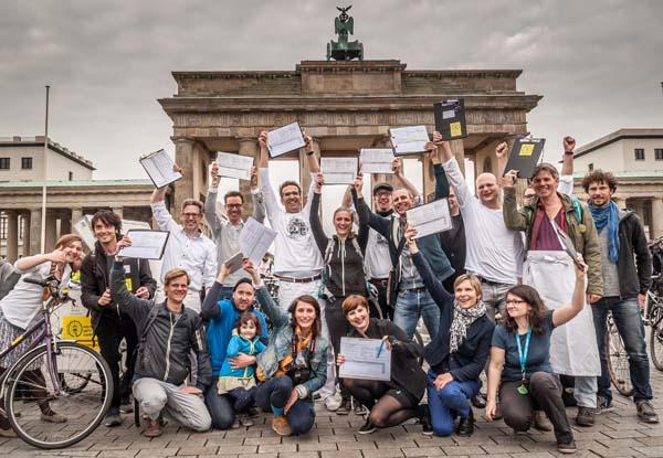 Volksentscheid Fahrrad, Beginn der Unterschriftensammlung Mai 2016