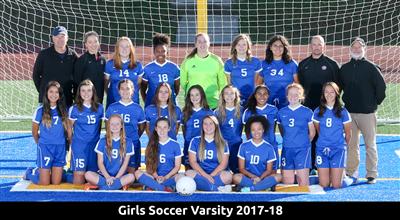 Athletics Soccer Girls