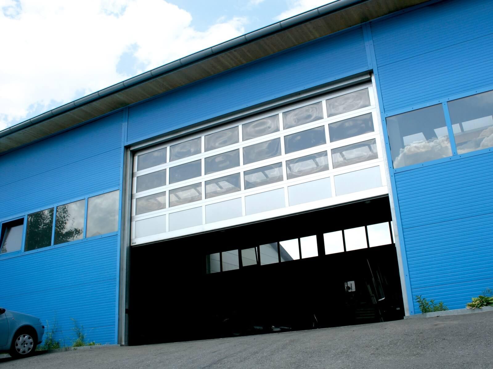 Portoni industriali in alluminio LXR AL42