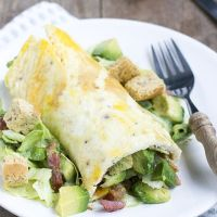 Caesar omeletwrap