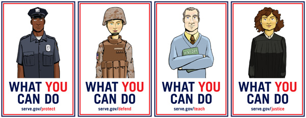 what you can do poster campaign