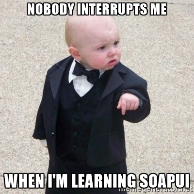 learning soapui meme