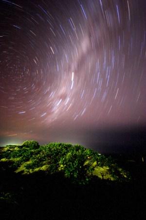 The Milky Way Long Exposure