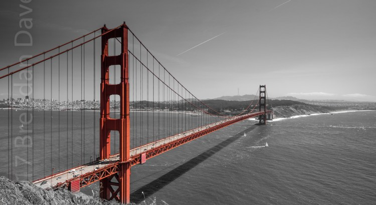 Golden Gate Bridge, Red, San Francisco
