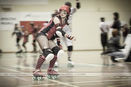 Canberra event and portrait photographer. Roller Derby