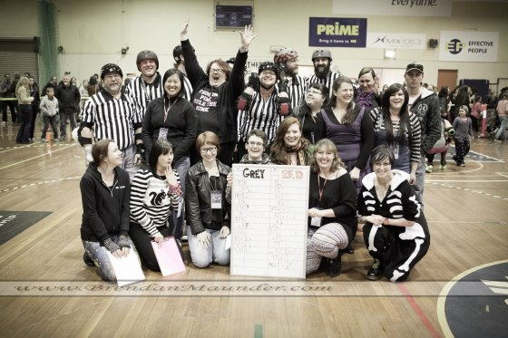 Roller derby officals, event and portrait photographer