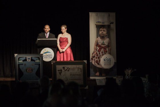 Speeches at the Benny Will Gala for 2013