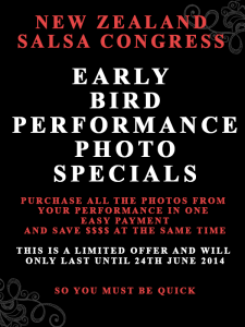 Early Bird Performance Special