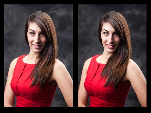 Professional Portrait Before and after, canberra portrait photographer