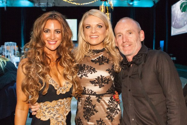 Ronald McDonald house charity with Melissa Gelonese, Erin Molan and Brendan Maunder (aka me)