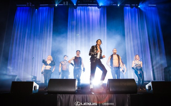 Michael Jackson tribute group
