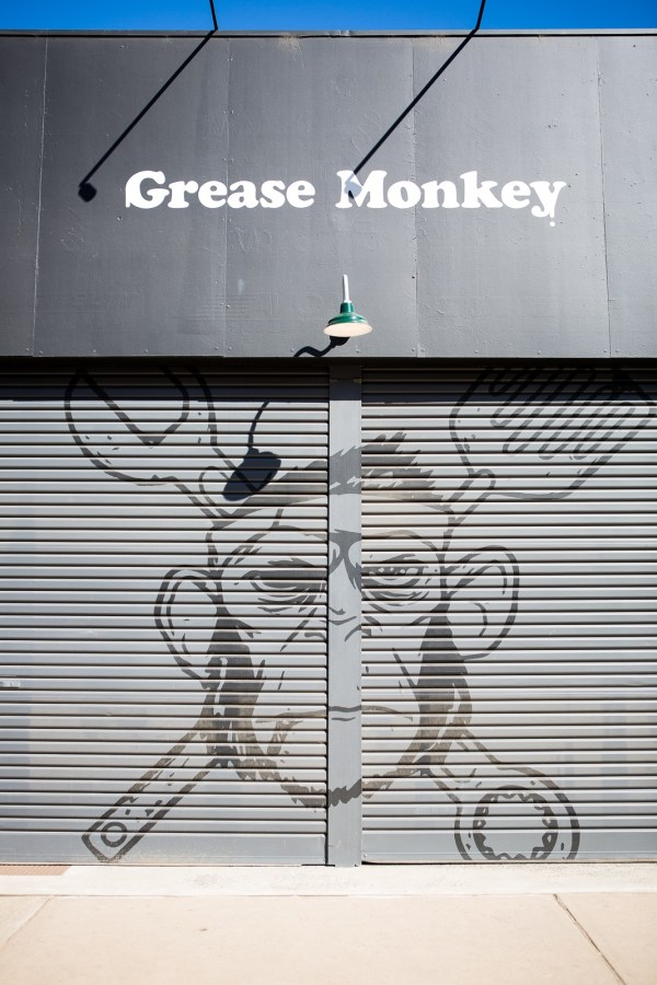 The grease monkey was our host the morning breakfast