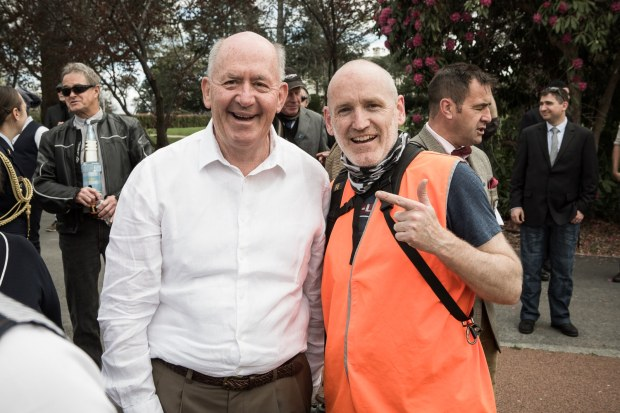 His Excellency, General the Honourable Sir Peter Cosgrove AK MC (Retd) taking time out to get a photo with your truly.