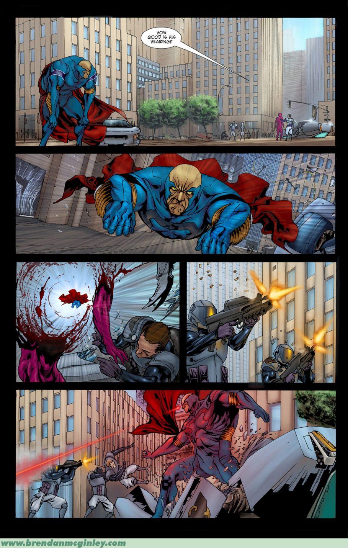 How do you stop a superhero?