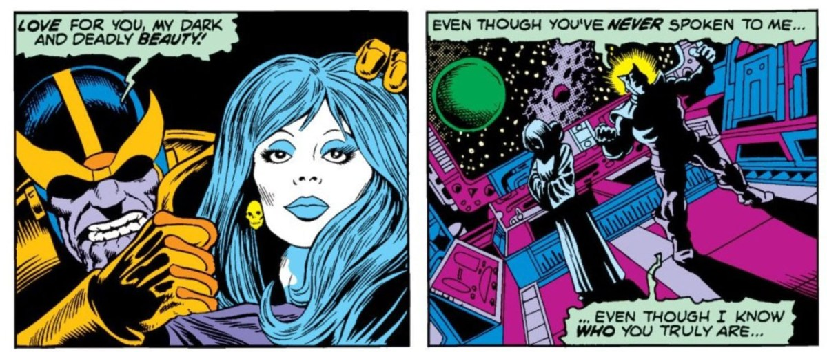 Thanos unveils Death as his consort, but she's not interested