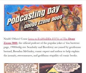 Brendan McGinley The Dogg Zzone 9000