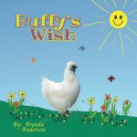 Buffys Wish, The Farmers Wife Series, white chicken with sunshine and flowers