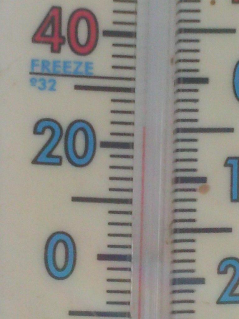 Heat Wave 20 degrees